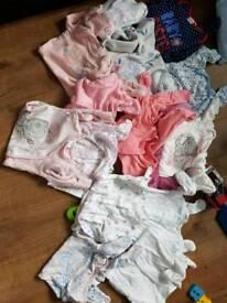 28 girls sleepsuits