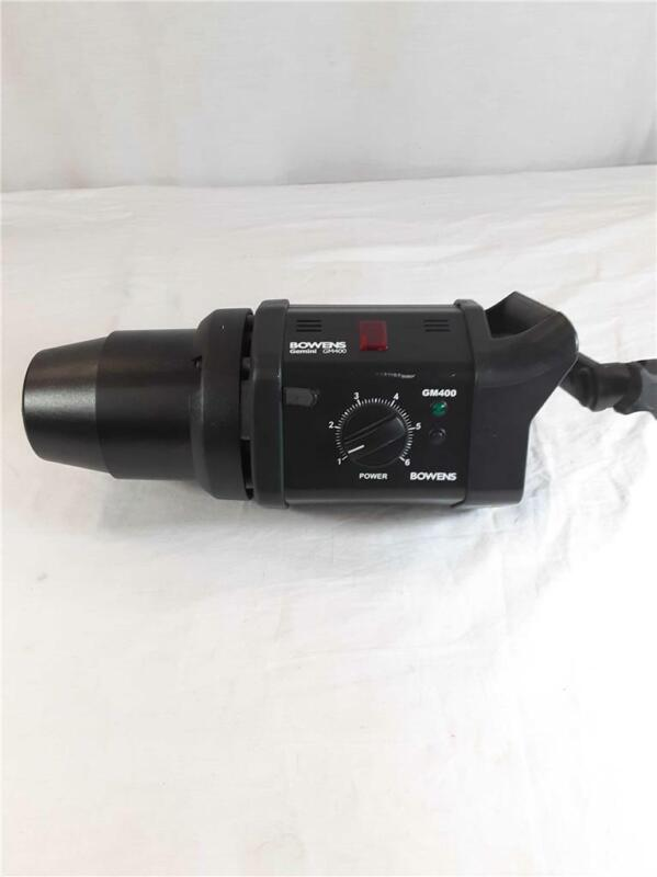 Bowens Gemini GM400 High Quality Compact Studio Flash Head Excellent Condition