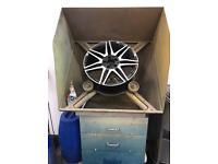 Mobile alloy wheel refurbishment gear start your own business!