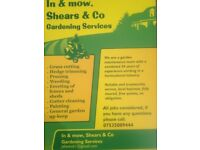 In & Mow, Shears & Co - Gardening Service