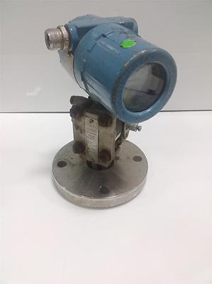 Rosemount Liquid Level Pressure Transmitter 316 Sst Dc200 Pzb