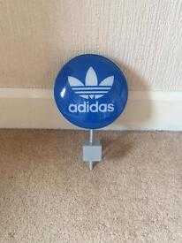 RARE Adidas Originals Point of Sale Sign.