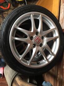 Honda Integra Type R DC5 Enkei EP3 Wheels