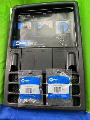 Miller Welder Bobcat 225 Control Plate New Bezel And Control Knobs New