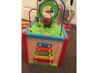 Activity cube fisher price toy bundle scooter baby toddler
