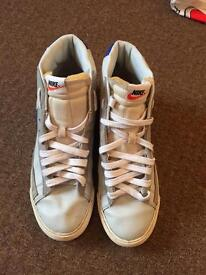 Nike Blazers High top mens - Light Blue - Good condition - Size 11