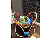 Unisex baby activity gym/ bouncer only used once !