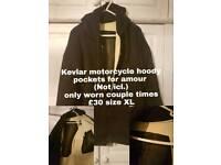 Motorcycle hoodie