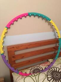 Weighted hula hoop