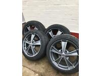 "*5 Stud 17"" Riva Alloys In Fair Condition £60 ..."