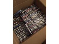 Mixed box of CD albums approx 330 of them!