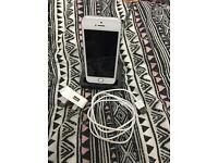 iPhone 5s 32gb white /silver factory unlock grade A