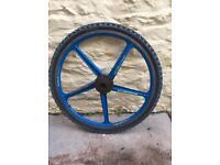 5 spoke alloy mountain bike wheels