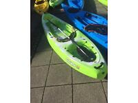 Kayak an paddle