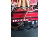 Generator LPG/petrol Honda