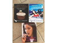 3 Nigella Lawson cook books