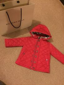 Burberry baby jacket coat brand new 18/24mnths