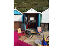 Beach Hut for Rent. Durley Chine Bournemouth