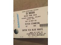 X2 Ed Sheeran Tickets (standing)