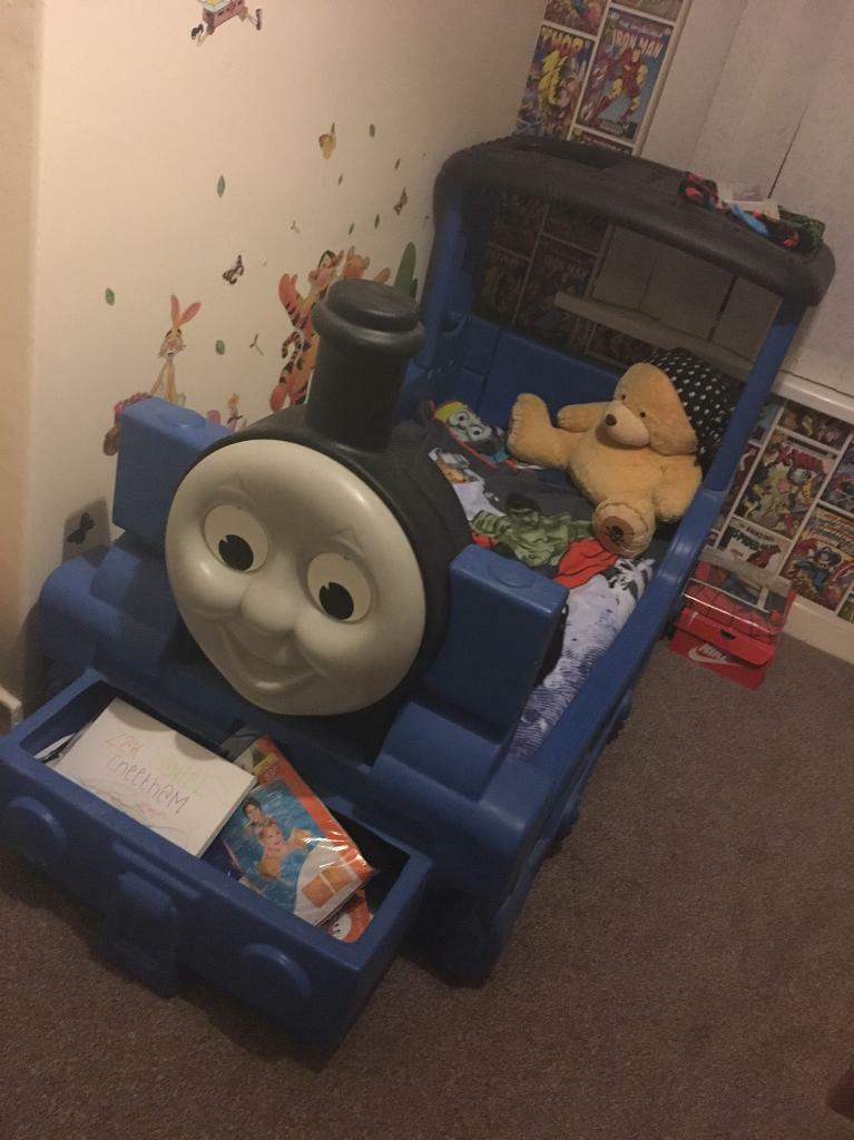 Thomas The Tank Engine Toddler Bed In Ashton Under Lyne Manchester Gumtree