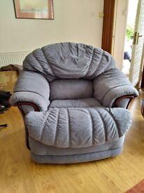 Light Blue Sofa Armchair