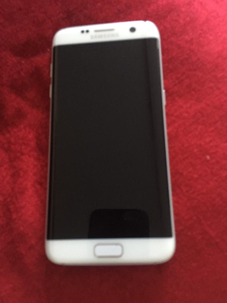 Samsung galaxy s7 edge white colour excellent condition 32gb