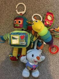 Lamaze and vtech baby toys