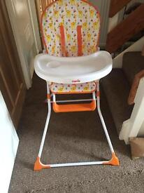 Mamia Highchair in new condition
