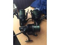 3x fx11 reels with 6 spools