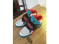 Adidas hi top trainers size UK 10