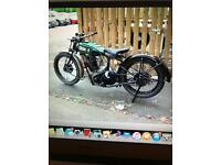 Wanted old British motorbikes