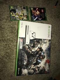 Brand new Microsoft Xbox one S console 1TB with 3 Top games