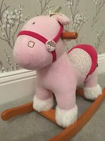 Mamas and papas rocking horse with box