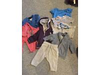 Boys bundle of clothes mostly next 3-6 months