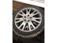 Renault Laguna alloys and tyres