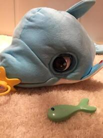 Interactive dolphin toy