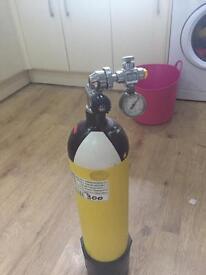 Diving bottle