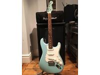 Limited Edition Fender 2009 American Standard Stratocaster - Daphne Blue / Matching Headstock