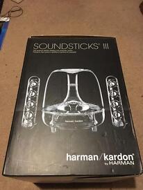 Harman/Kardon Soundsticks iii/3 by Harman 2.1 Channel Speakers