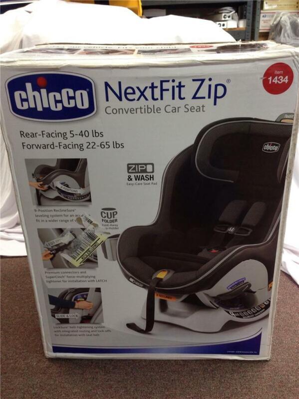 NEW Chicco NextFit Zip Convertible Car Set Rear And Forward Facing Corvus