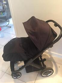 Oyster Pram with carrycot and extras