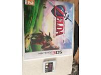 Zelda 3ds games