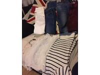 Girls clothes size 7/8