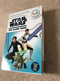 Star Wars The Clone Wars Readers - Reading Level 1 & 2 - 10 books