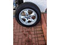 """BMW X5 18"""" Alloy Wheels & Tyres"""