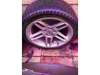 "Bmw Ac Schnitzer 19"" Alloy m sport type 3 Wheel Can Post"