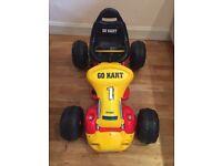 12V Ride-On Go Kart - Red
