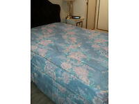 very clean double bed MATTRESS for sale-very cheap for quick sale & from a non smoking pet free home