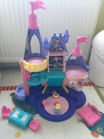 Little people princess palace and extra characters