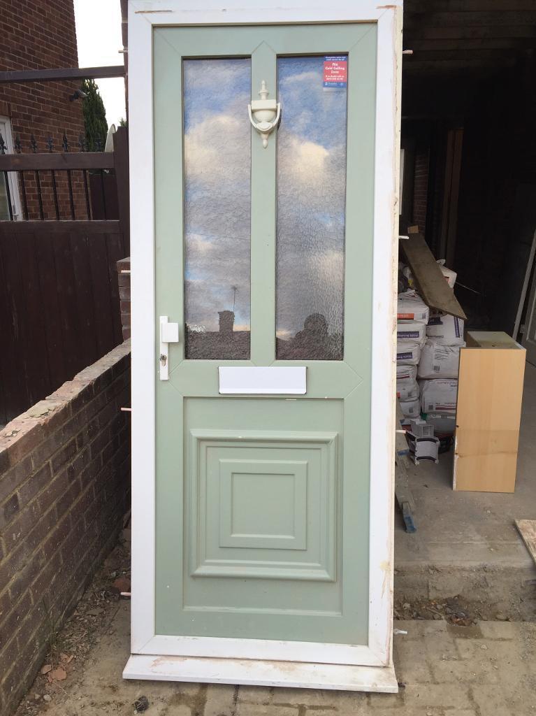 UPVC Front door - Sage green   in Farnborough, Hampshire   Gumtree